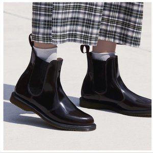 Dr Martens Flora Kensington Black Chelsea Boot